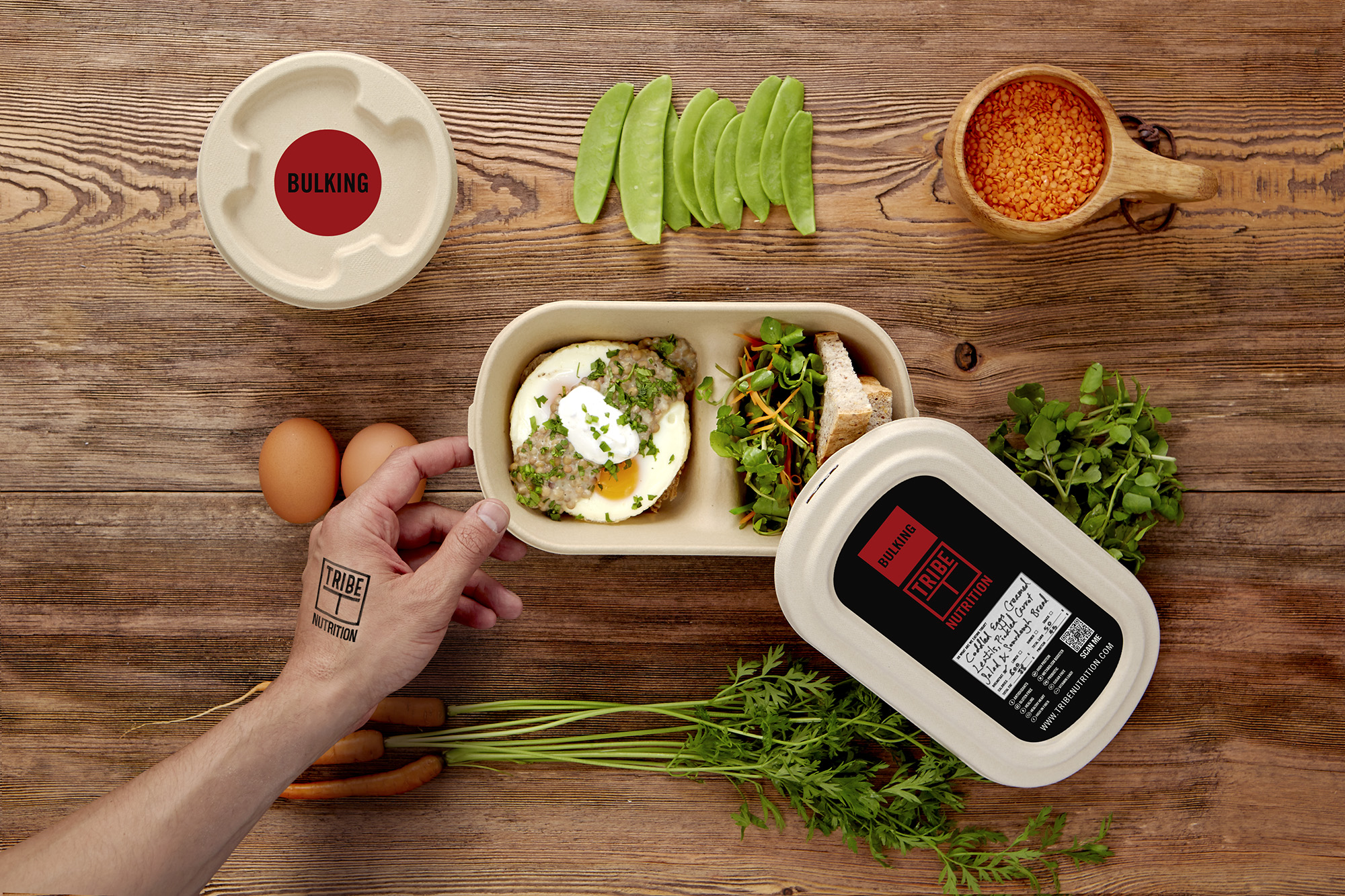 Get Pumped Up with TRIBE BULKING Meals