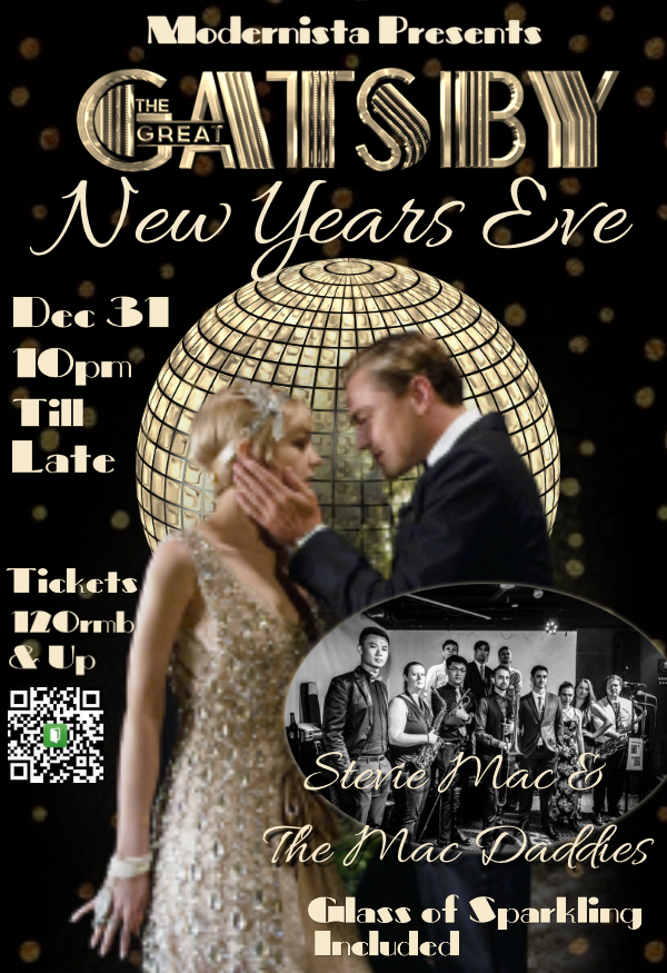 New Year´S Eve Great Gatsby Theme Party Ft  The Mac Daddies